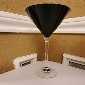 Circleware Dining - Black Martini Glasses